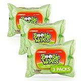 Boogie Wipes Gentle Saline Nose Wipes Original Fresh Scent, 30 Count...