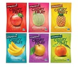 Crispy Green Variety Pack of 6 Assorted Fruits, 0.36 Ounce (12 Count) Variety Pack