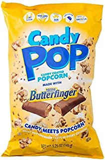 Cookie Pop Popcorn Butterfinger Popcorn 5.25 OZ (Pack of 2)