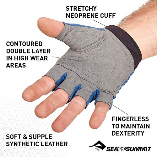 Sea to Summit Eclipse Paddle Glove, Blue, Medium