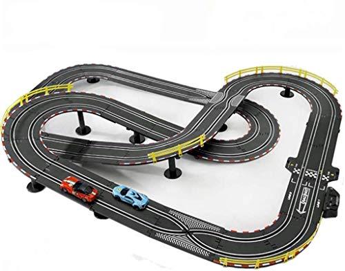 BJINDH Slot Cars Track Set Track Racing Juguetes 6.6M Racing Track Coche Coche Padre-Niño Interactivo Asamblea Interactivo Ocio y Entretenimiento Juguetes Gran Pista eléctrica Control Remoto Ensamblad