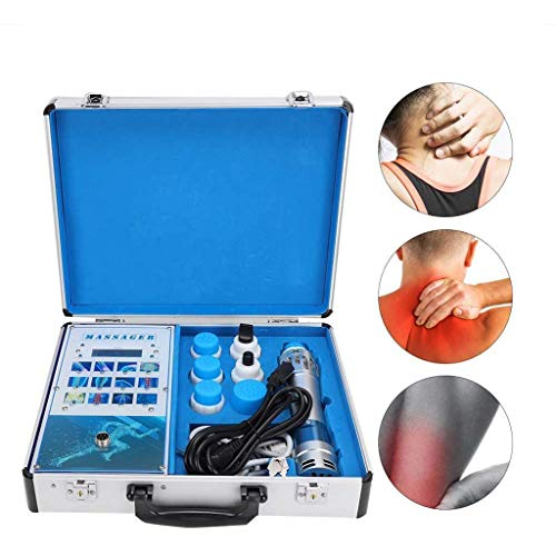 New Shockwave Therapy Machine,Multifunctional Muscle Pain Relief Instrument ED Physical Massager for...