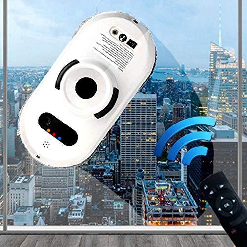 Enwebalay Fensterputzroboter Komplett Automatisch, Fensterputz-Roboter Vakuum Empfindlich, Sicherheit Smarte Glasreinigung Fernbedienung füR HochhäUser Im Innen und AußEnbereich