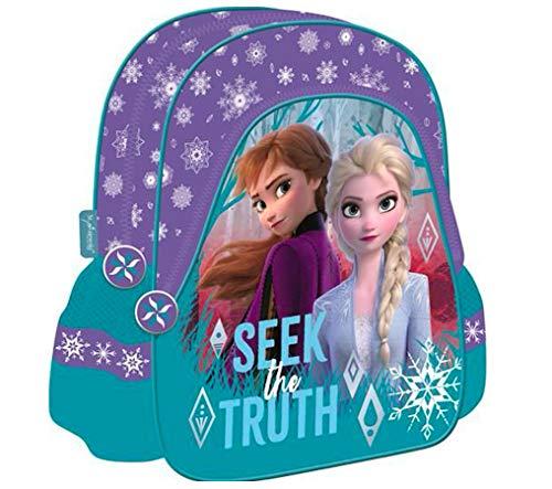 Frozen 2 II die EISKÖNIGIN Rucksack Tasche Kindergarten + Sticker von kids4shop KINDERGARTENRUCKSACK