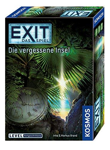 Kosmos 692858 - EXIT - Das Spiel - Die vergessene Insel, Level: Fortgeschrittene, Escape Room Spiel, Bunt