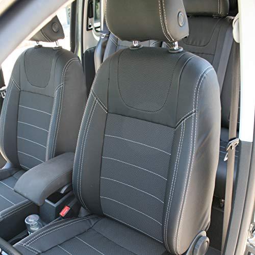 Grassias stoelhoezen voor Volkswagen Caddy IV (2015+) 7-zits