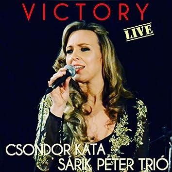 Victory (feat. Sárik Péter Trió) [Live]
