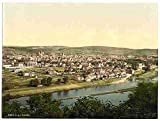 Photo Trier Moselle valley of A4 10x8 Poster Print