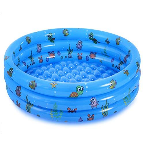 Jsdoin - Piscina gonfiabile pieghevole per bambini, piscina all'aperto per cortile, casa, giardino, estate, vasca da bagno antiscivolo