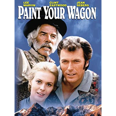paint your wagon blu ray