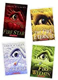 4 Books: Last Dragon Chronicles Series Set - The Fire Within, Icefire, Fire Star, Fire Eternal, (Last Dragon Chronicles Set Series Collection, Vol. 1, 2, 3, 4)