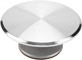 PiniceCore 1pcs Torta Tavola Rotante Decorazione della Torta Stand Anti Skid Rotonda alla Crema Rotary Table Cottura Premi...