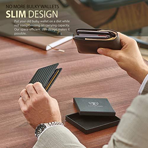 2 Year Anniversary Gift Ideas for My Boyfriend - TRAVANDO Slim Wallet