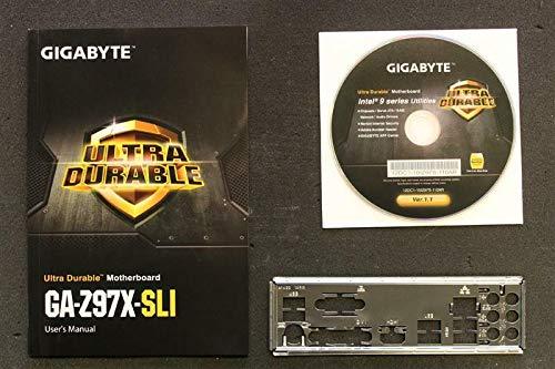 Gigabyte GA-Z97X-SLI Handbuch - Blende - Treiber CD