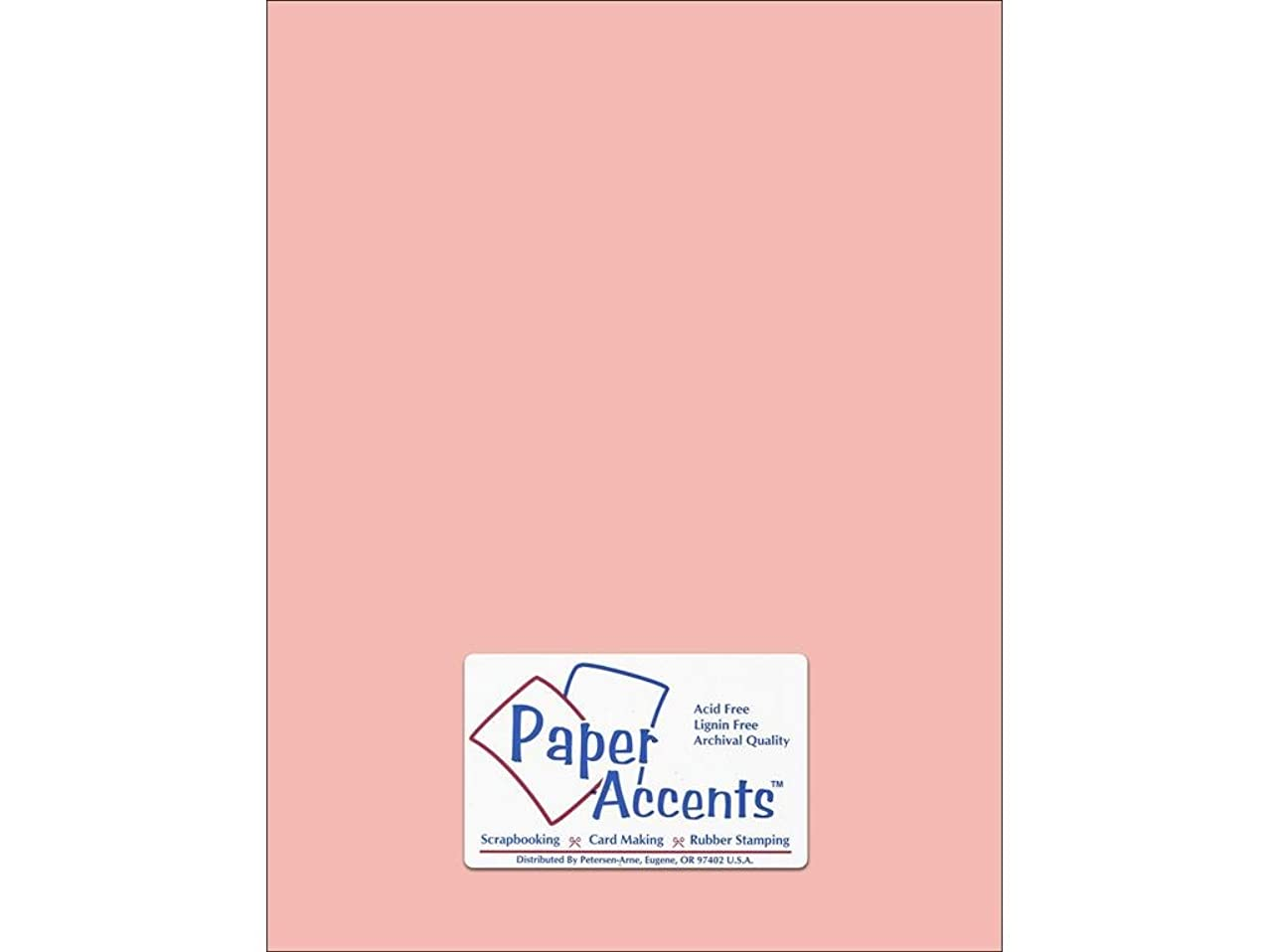 Accent Design Paper Accents Cdstk Smooth 8.5x11 74# Berry Blush