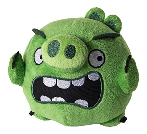 Angry Birds - Peluche Basico - Pig, 12 cm