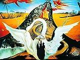 1art1 Salvador Dali - Bacchanale Poster Kunstdruck 80 x 60