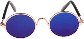 CUTICATE Colorful Lens Sunglasses, Fit for Blythe 12 inch Dolls, 1:6 Scale BJD Ball Jointed Dolls - Blue