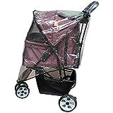 (FUPUONE) 3輪ペットカート用 レインカバー ペットバギー 透明 防寒 雨対策に