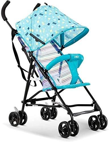 Nuevo triciclo triciclo para niños Cochecito de bebé, coche paraguas, cochecito, ligero, plegable, de verano, portátil, portátil, transpirable, carrito de bebé, triciclo, cochecito, silla de empuje pa