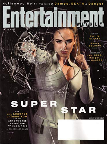 Entertainment Weekly Magazine August 2019 (Cover 4 of 5) | Caity Lotz as White Canary