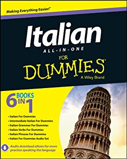 Italian All-in-One For Dummies by [Consumer Dummies]