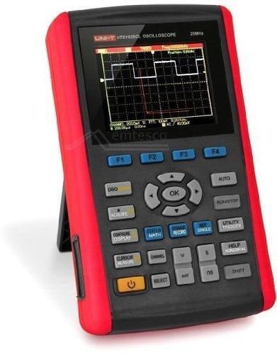UNI-T UTD1025CL Digitale Hand-Oszilloskop 3.5 LCD 1 Ch 25 MHz + DMM 200MS UNI-T UTD1025CL Digitale Hand-Oszilloskop 3.5 LCD 1 Ch 25 MHz + DMM 200MS