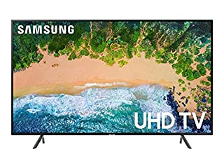 "Samsung UN58NU7100FXZC 58"" 4K Ultra HD Smart LED TV (2018), Charcoal Black [Canada Version] (B07DW4CWLT) 