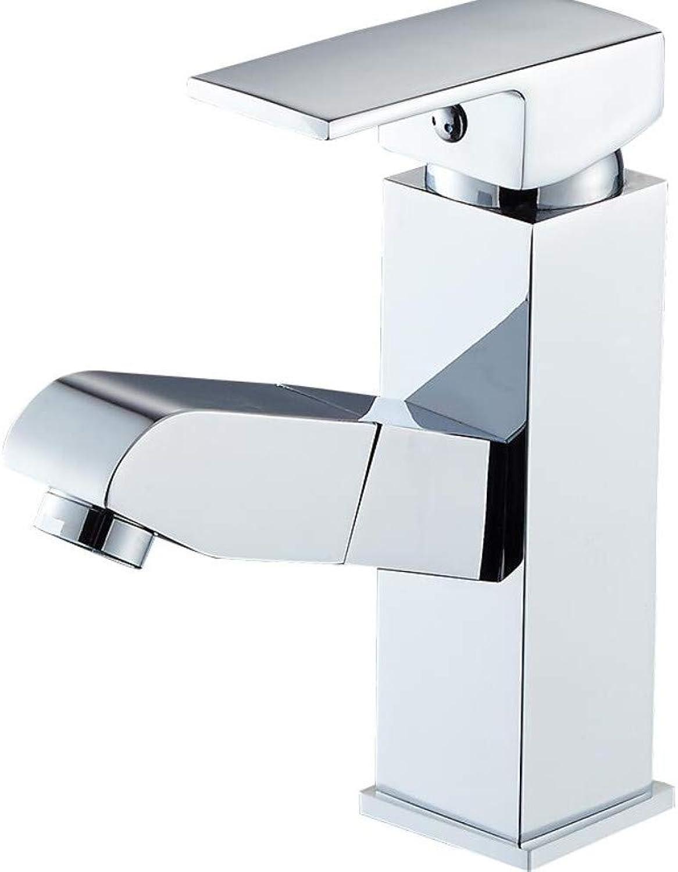Kupfer Pull Wasserhahn hei und kalt Badezimmer Waschbecken Waschbecken Waschbecken Wasserhahn waschbar Kopf Teleskop