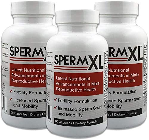 SPERM XL - Sperm-Count, Fertility & Mobility Nutritional Supplements for Men