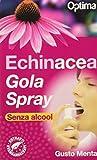 optima naturals echinacea - gola spray, menta, 20 millilitri