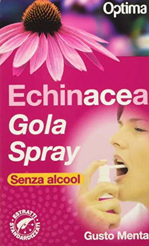 Optima Echinacea - Gola Spray, 20 ml, Menta