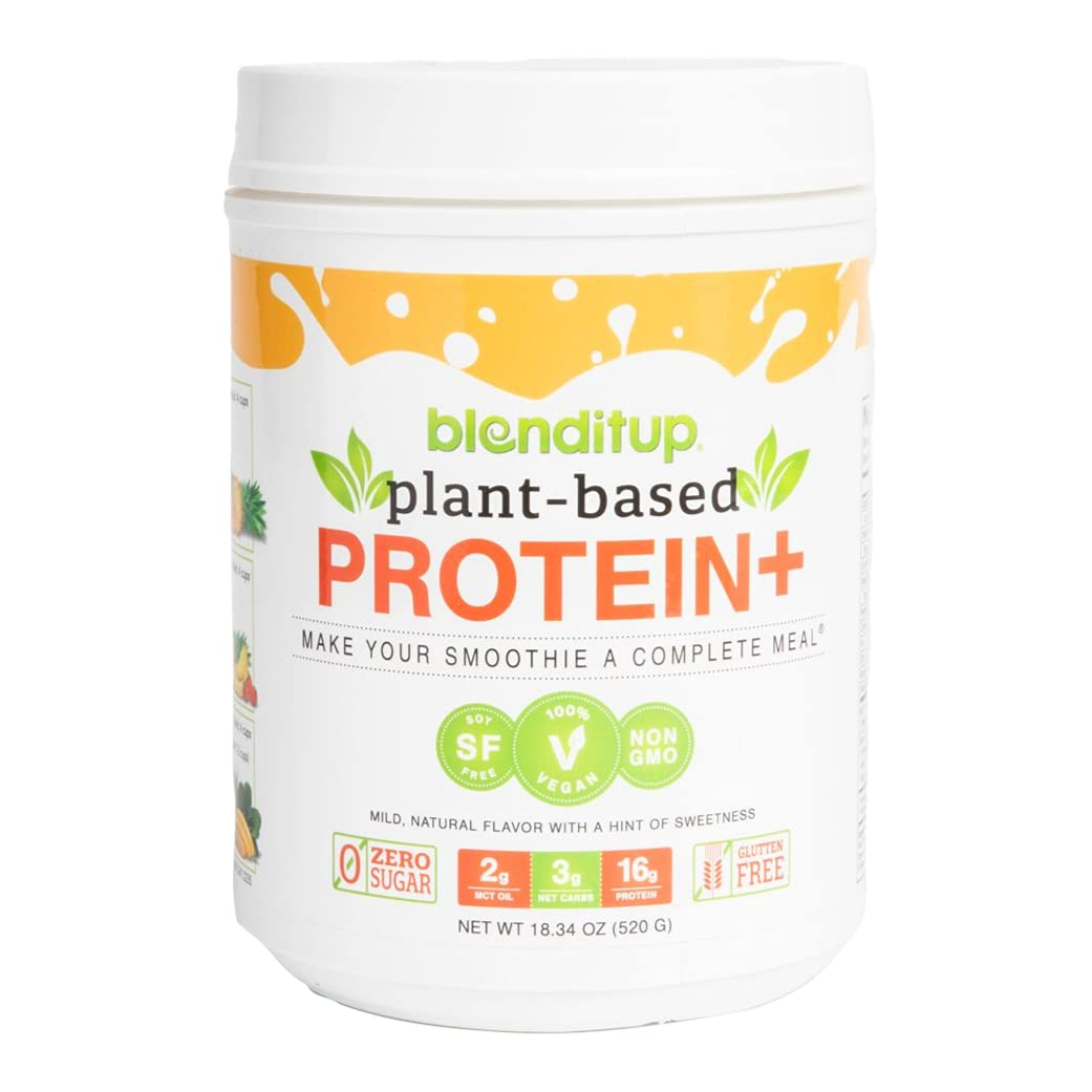 Under blast sales Max 70% OFF Blenditup Vegan Plant-Based Protein 30 Servings Prote Premium -