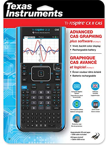 Texas Instruments TI-Nspire CX II Color Graphing Calculator with Student Software (PC/Mac) & TI-Nspire CX II CAS Color Graphing Calculator with Student Software (PC/Mac) Photo #7