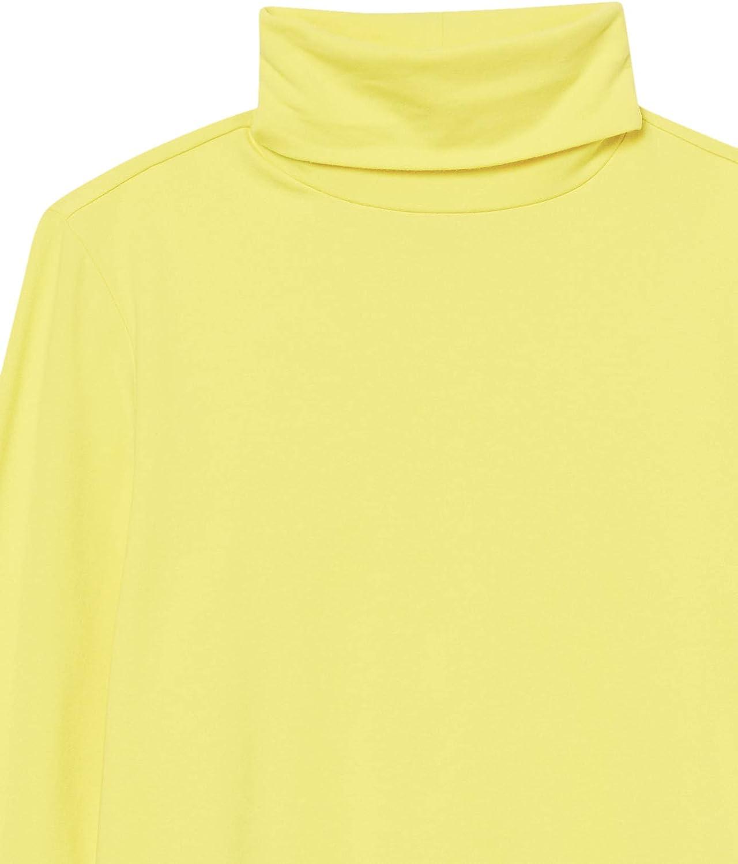Essentials Maglia A Maniche Lunghe con Collo Alto Fashion-t-Shirts Donna