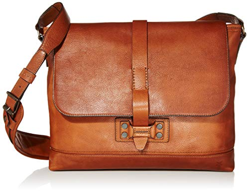 FRYE Men's Bowery Messenger, Caramel One Size