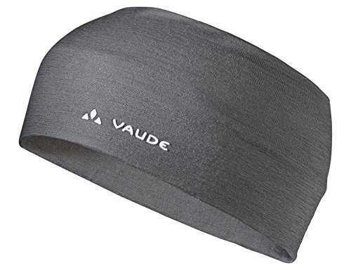 VAUDE Stirnband Cassons Merino Headband, iron, one size, 404268440000