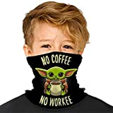 'N/A' Bandanas Baby Yoda Pañuelos faciales para niños