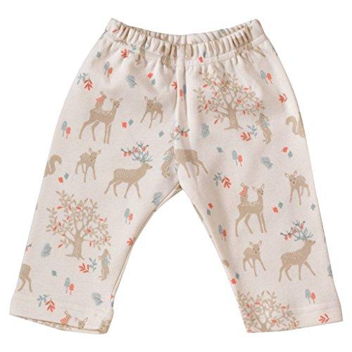 Pigeon - Organics for Kids - Pantalon - Bébé (garçon) 0 à 24 Mois Blanc weiß, Blau, Braun, Bunt - Blanc -