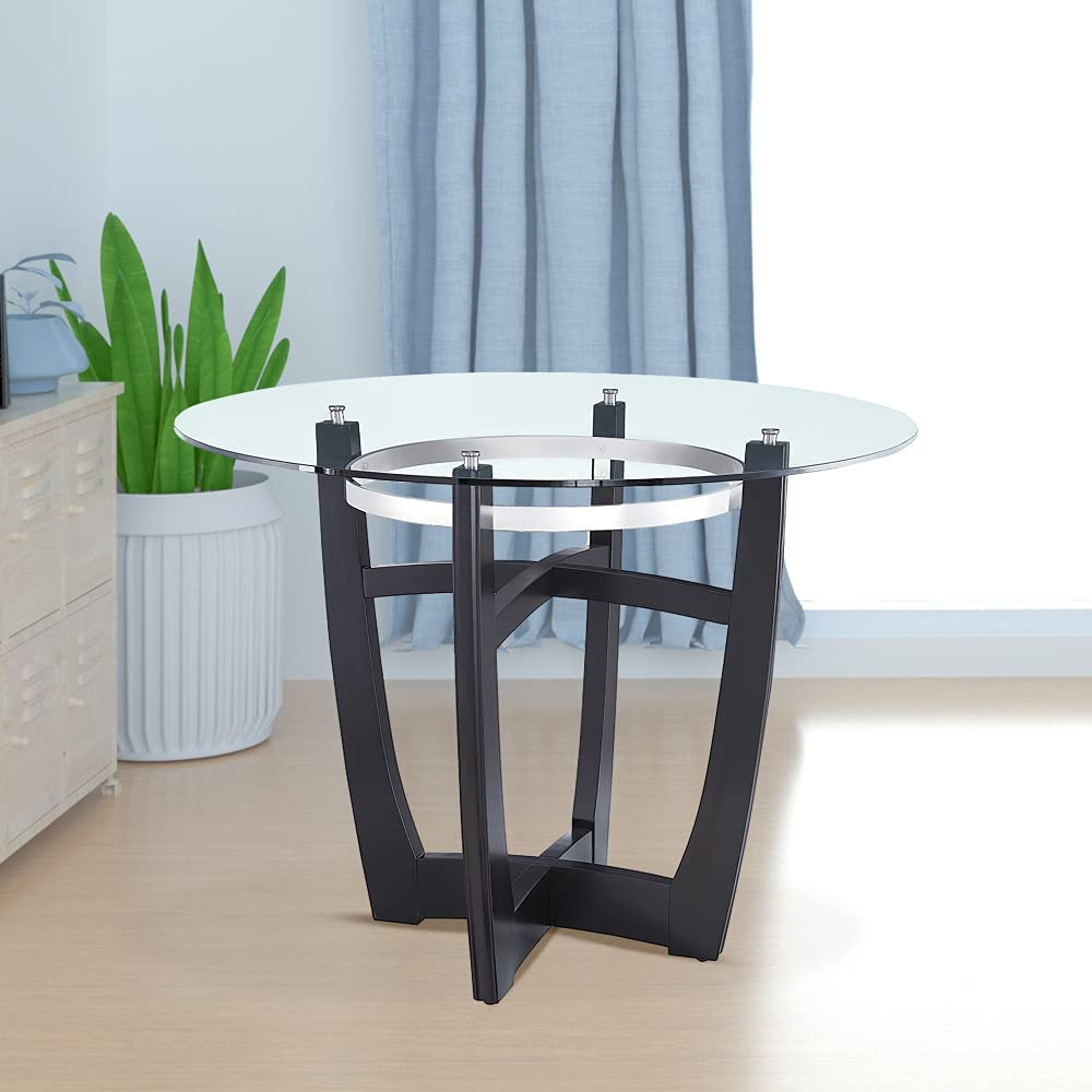 LKJYBG Dining Table with Clear Ranking TOP6 Top Popular product Glass Solid Tempered Wo