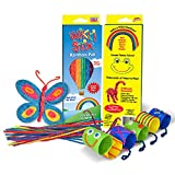 Sensory Fidget Toy, Arts and Crafts for Kids, Non Toxic Waxed Yarn, 24 Cheerful Colors of The Rainbow, American Made by Wikki Stix.