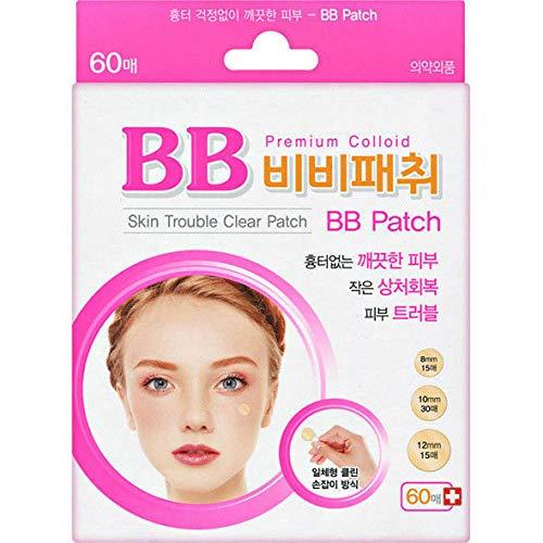 Skin Trouble 60 pads tegen huidirritatie en puistjes, spot pleister, gezichtsmasker en reiniging van de gezichtshuid