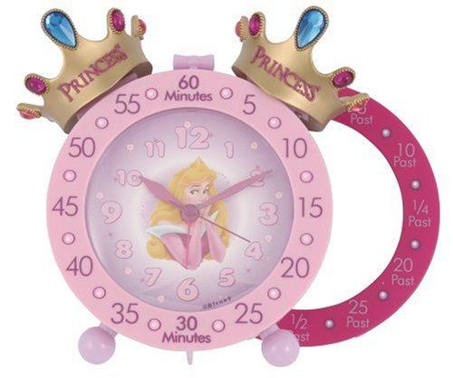 Disney Princess Time Teacher wekker met dubbele bel