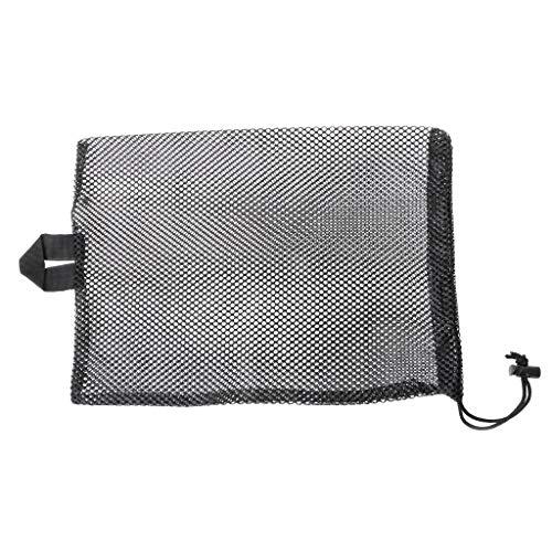 NA Polyester-Netztasche zum Schwimmen und Tauchen, schnelltrocknend, mit Kordelzug, Wassersport-Aufbewahrungstasche