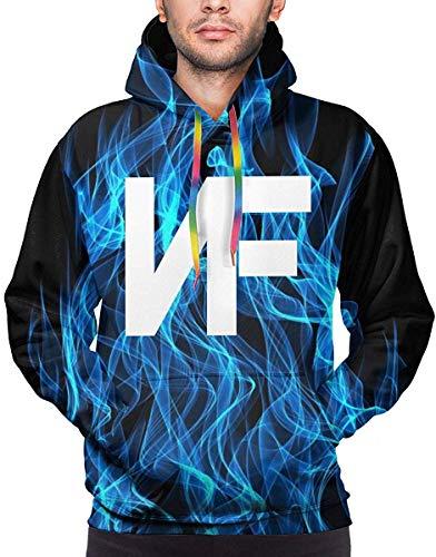 Rogerds Kapuzenpullover Mens NF Rapper Logo (2) Logo Winter Hoodie Sweatershirt Langarm-Pullover Hoodies for Men Clothes