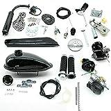 Kit de motor de bicicleta de motor de 2 tiempos de 80 cc, kit de conversión de bicicleta de...
