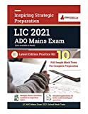 LIC Apprentice Development Officer Mains 2021   Preparation Kit for LIC ADO   10 Full-length Mock Tests (Solved)   By EduGorilla