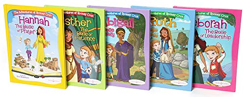 Bible Belles Christian Children's Book Set, The Adventures Of Rooney Cruz Bible Story Books, Age 4 - 10, Set Of 5