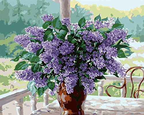 MOL 5D vaas Lavender Diamond Painting 50x70cm/20x28in