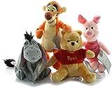 Cali RCGG Winnie The Pooh, Tigger, Eeyore, and Piglet Bean Plush Disney - 7